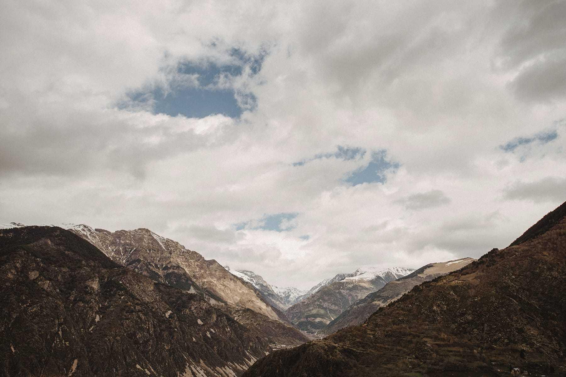Montañas de los Pirineos