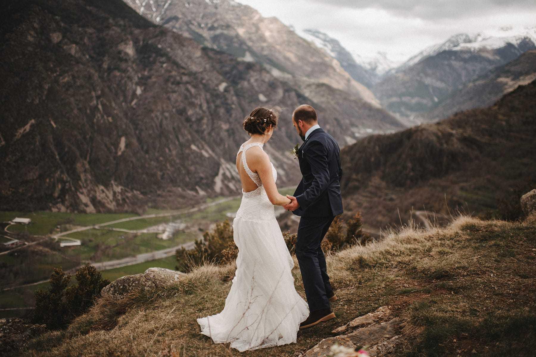 Fotos de pareja en la Vall de Boí