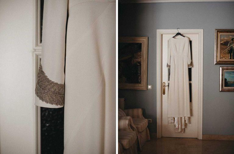 Vestido de Novia de Paredero Quiros
