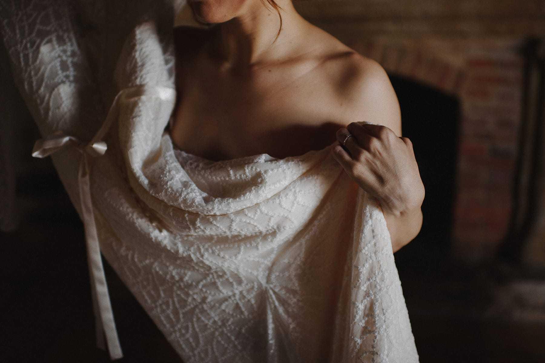 Detalle del Vestido de Otaduy