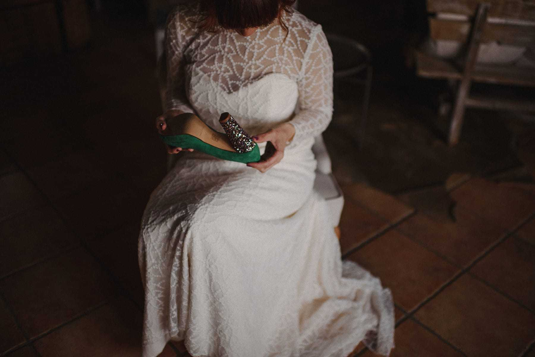 Zapatos de novia originales