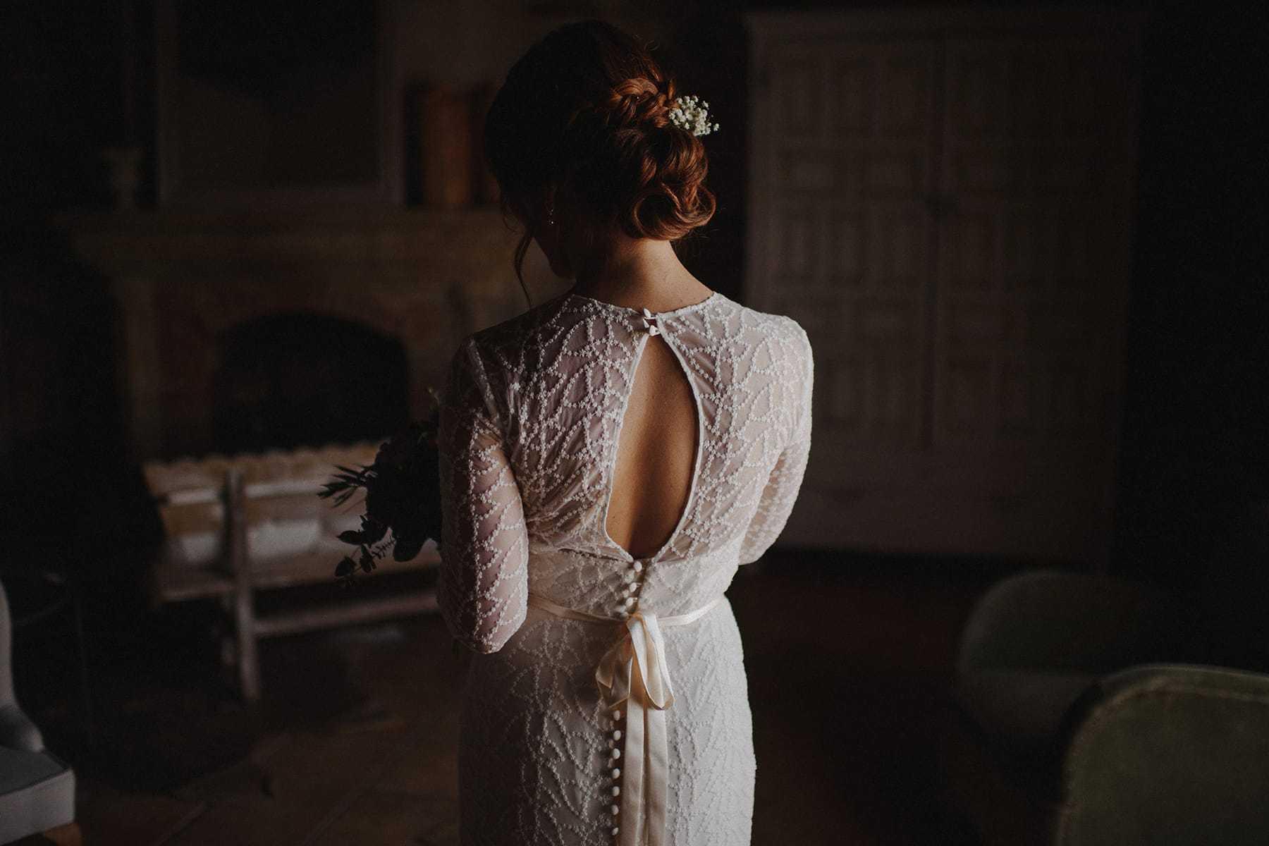 Espalda vestido de Otaduy