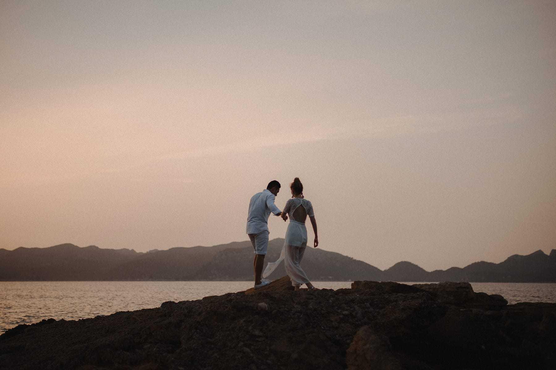 Sesión de fotos de pareja en Palma de Mallorca