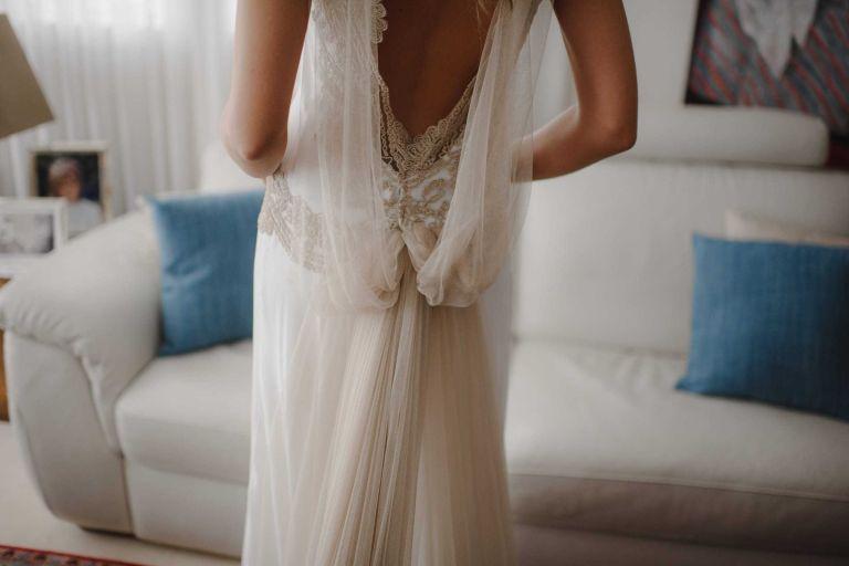 Vestido de novia de Navascues