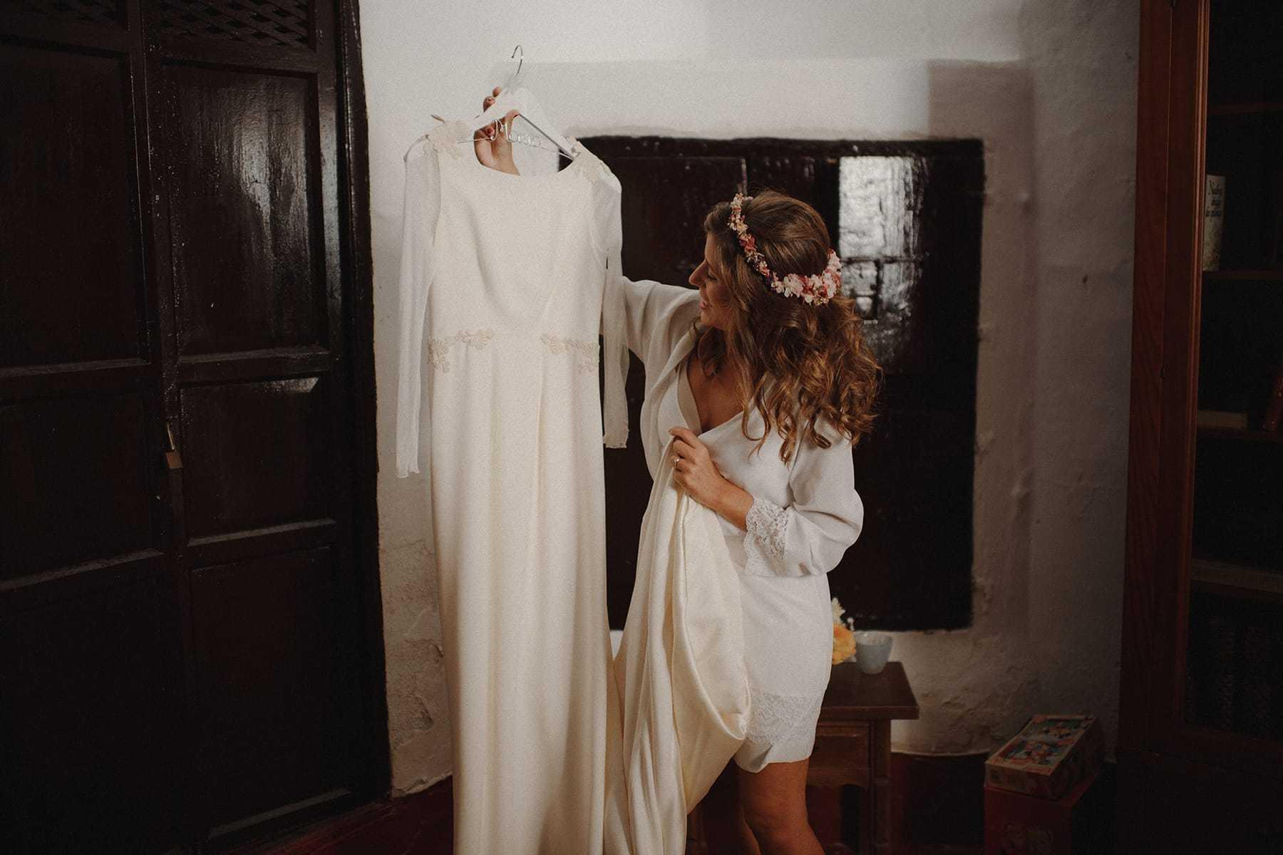 Vestido de Novia de Paredero Quirós