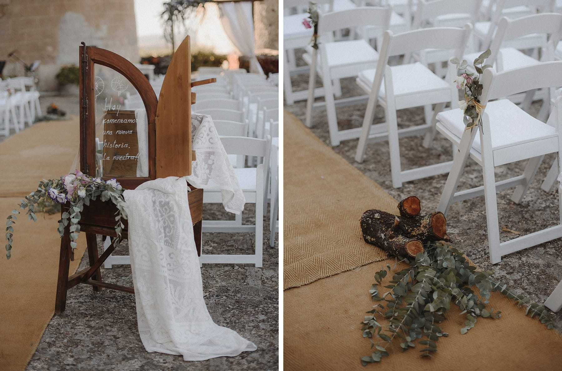 Decoración de boda