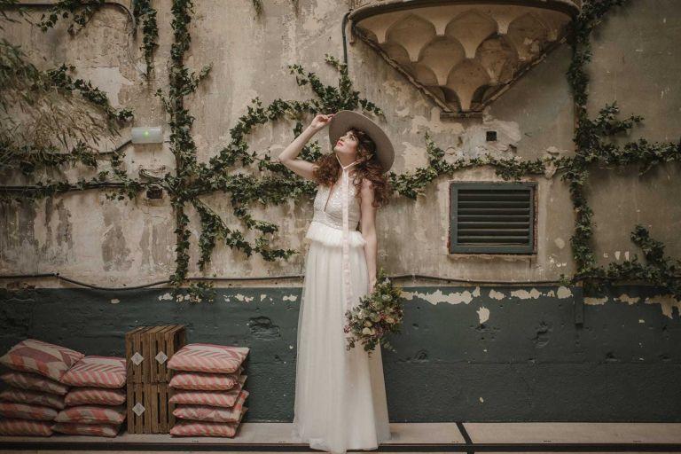 Vestido de novia de Paz Guillén