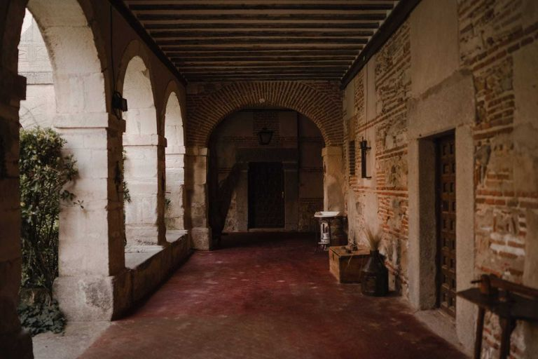 Claustro de la Abadia de Párraces
