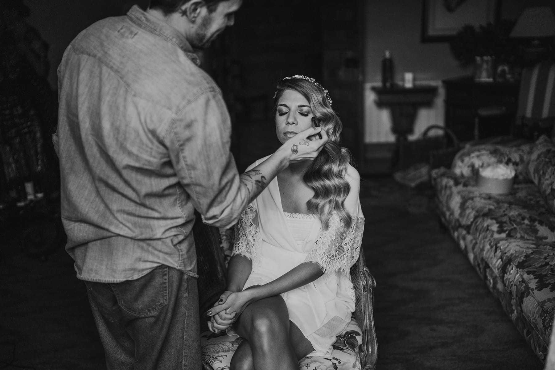 Maquillaje de boda por Oui Novias
