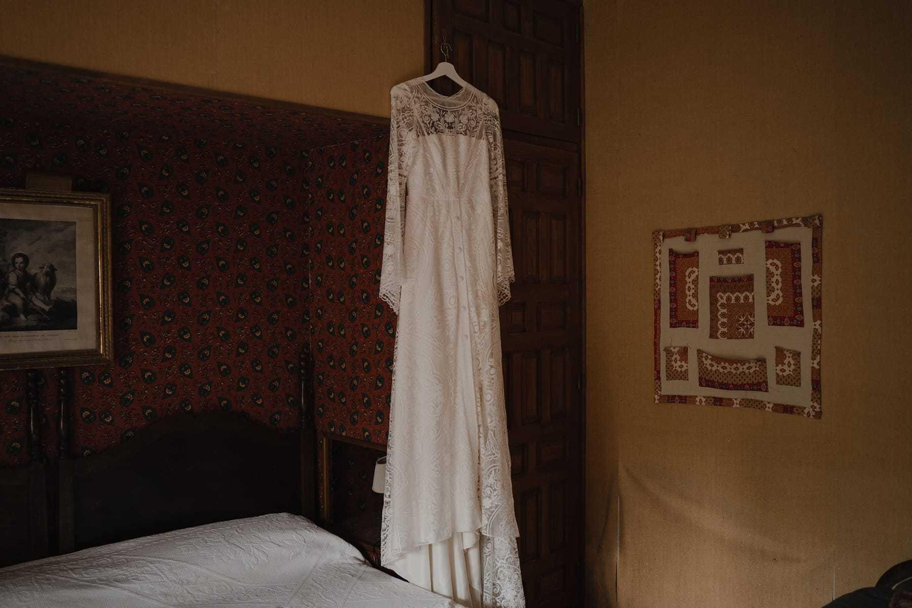 Vestido de novia de Clara Brea